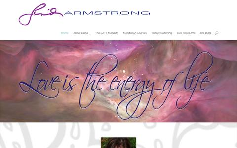 Screenshot of Home Page livelawofattraction.com - Law of Attraction, Law of Attraction Coach, Reiki Master Teacher, Energize your Life!  Connect to your Power–With–In - captured Sept. 19, 2014