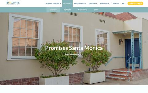 Rehab for Professionals: Santa Monica Addiction Rehab | Promises
