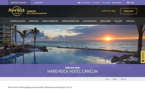 Webcam Cancun | Hard Rock Hotel Cancun