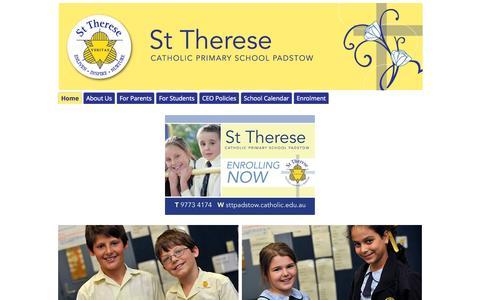 Screenshot of google.com - St Therese Catholic Primary School Padstow - captured June 19, 2015
