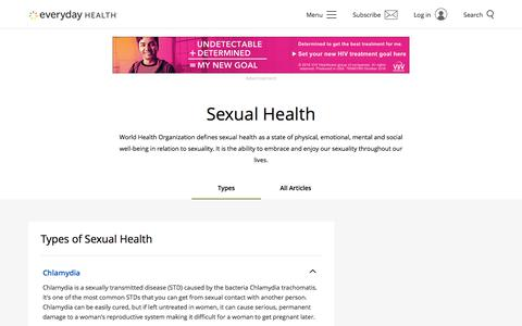 Sexual Health: Types, Causes, Symptoms & Treatments | Everyday Health