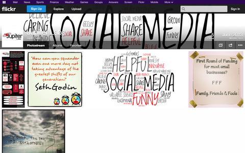 Screenshot of Flickr Page flickr.com - Flickr: Jupiter Labs' Photostream - captured Oct. 23, 2014