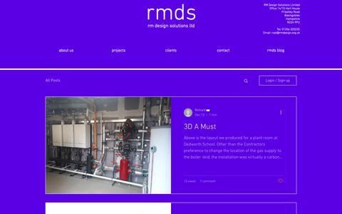 Screenshot of Blog rmdesign.org.uk - Design | Hampshire | RM Design Solutions | Blog - captured Dec. 21, 2018