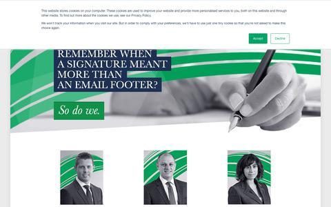 Screenshot of Team Page enterprisefinance.co.uk - Management Team - Enterprise Finance - captured Sept. 28, 2018