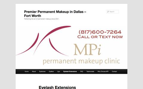 Dallas Fort Worth MPi Eyelash Extensions Membership ClubPremier Permanent Makeup in Dallas – Fort Worth