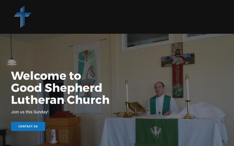Screenshot of Home Page bardstownlutheran.org - Bardstown Lutheran Church - captured April 27, 2017