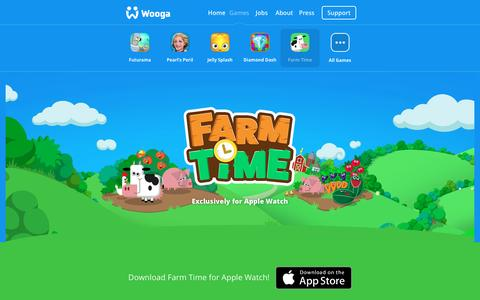 Screenshot of wooga.com - Farm Time - captured April 15, 2016