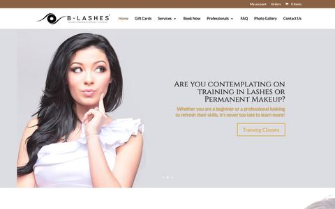Homepage | B-Lashes Permanent Makeup & Beauty Parlor