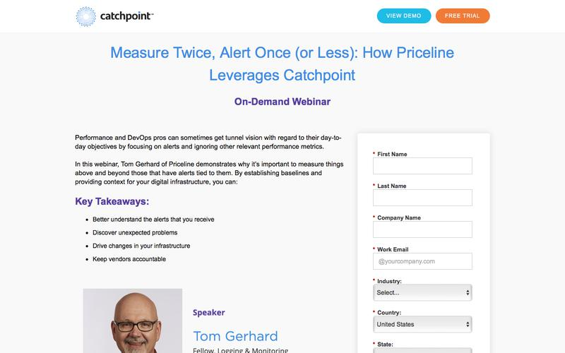 Catchpoint | How Priceline Leverages Catchpoint Synthetic Monitoring
