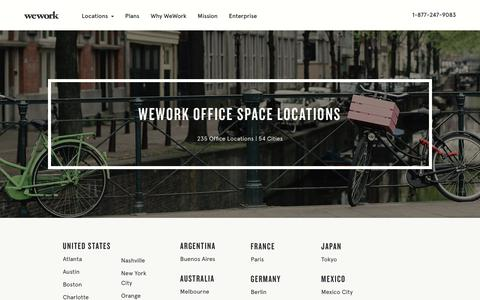 Coworking, Office Space - All Locations | WeWork