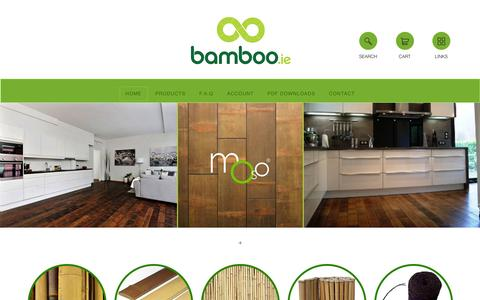 Screenshot of Home Page bamboo.ie - Bamboo Ireland - captured Feb. 7, 2016