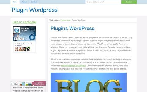 Screenshot of Home Page plugin-wp.net - Plugins Wordpress - captured Sept. 20, 2015