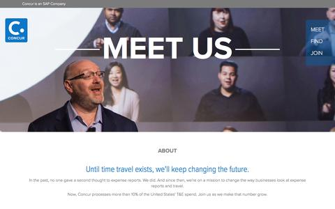 Meet Concur's Leaders and Learn About What Drives Us - Concur