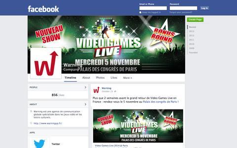 Screenshot of Facebook Page facebook.com - Warning | Facebook - captured Oct. 27, 2014