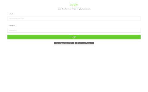 Screenshot of Login Page requity.ca - Login - captured Feb. 14, 2016
