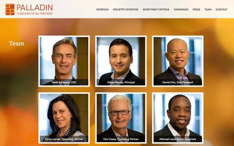 Screenshot of Team Page pcrp.com - Team | - captured Oct. 1, 2014