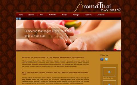 Screenshot of Blog aromathai.net - Blog - captured Sept. 23, 2014