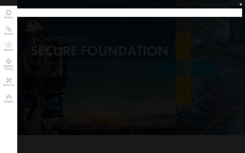 Screenshot of Home Page arm.com - Architecting a Smarter World – Arm - captured Aug. 19, 2018