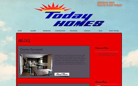 Screenshot of Blog todayhomes.net - todayhomes1971 | BLOG - captured Dec. 3, 2016