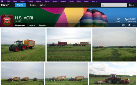 Screenshot of Flickr Page flickr.com - Flickr: H.S. AGRI's Photostream - captured Oct. 22, 2014