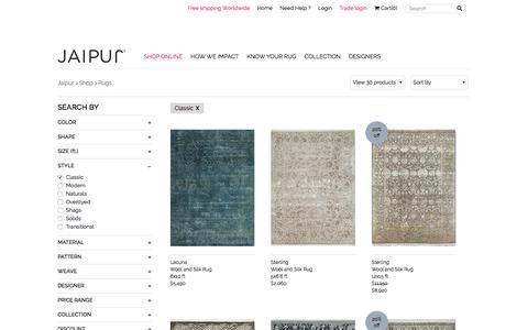 Wool Rugs, Classic Rugs | Buy Online Carpets | Jaipur Rugs