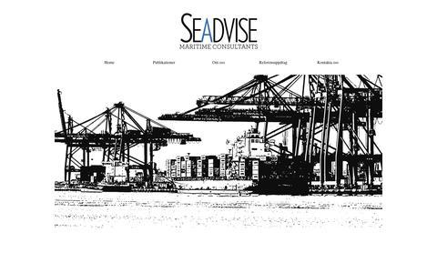 Screenshot of Home Page seadvise.se - Hem - captured Nov. 6, 2018