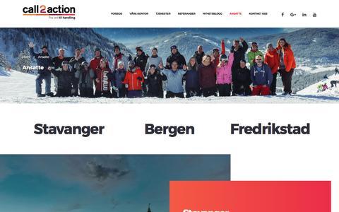 Ansatte - Call2action Stavanger AS