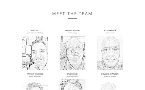 Screenshot of Team Page evermineral.com - MEET THE TEAM   EverMineral - captured Dec. 11, 2015