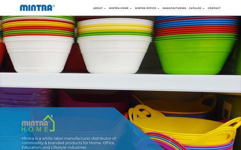 Screenshot of Home Page mintra.com.eg - Mintra | - captured Sept. 21, 2018