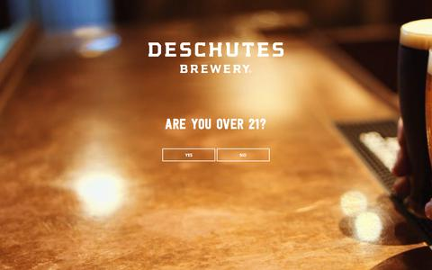 Screenshot of Contact Page deschutesbrewery.com - Contact Us - Deschutes Brewery - captured June 4, 2017