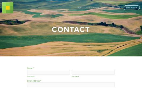 Screenshot of Contact Page farmafield.com - Contact — FARMAFIELD - captured Sept. 30, 2014