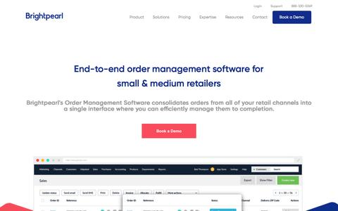 Order Management Software For Retailers - Brightpearl