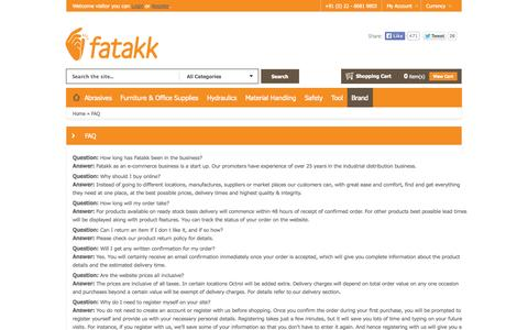 Screenshot of FAQ Page fatakk.com - faq - captured Oct. 6, 2014
