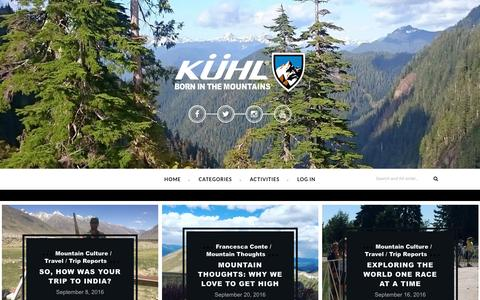 Kühl Clothing Born In The Mountains Blog -