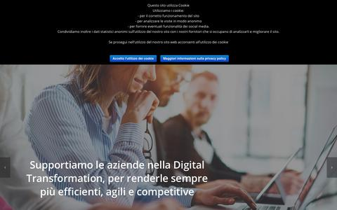 Screenshot of Home Page 2winsolutions.com - 2Win Solutions – ERP experts and business consulting - captured Nov. 17, 2018