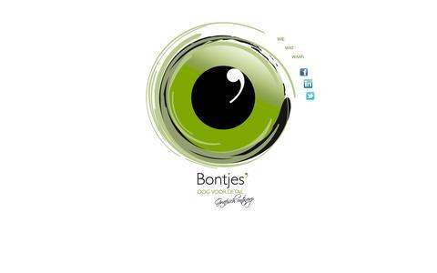 Screenshot of Home Page bontjesoogvoordetail.nl - Bontjes oog voor detail - captured Sept. 30, 2014