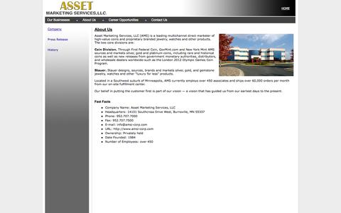 Asset Marketing Services, LLC - About Us