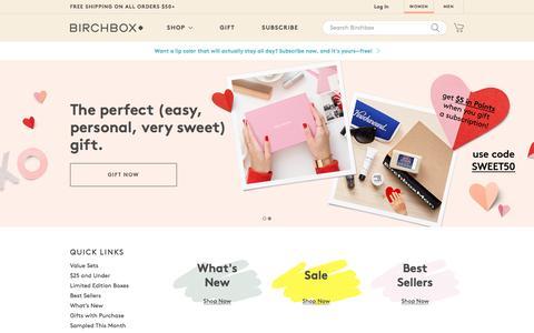 Screenshot of birchbox.com - Add More to Your February Box   Promo   Birchbox - captured Feb. 2, 2017