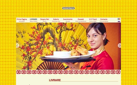Screenshot of Menu Page 5element.md - LIVRARE -  Restaurant Chinezesc 5Element / LIVRARE bucate chisinau - captured Oct. 27, 2014