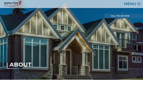 Screenshot of About Page southernwinds.com - About - Southern Winds Realty - captured June 13, 2019