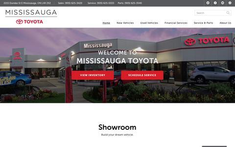 Mississauga Toyota New & Used Toyota Dealership | ON.