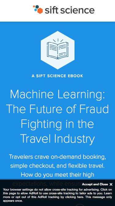 The Future of Fraud Fighting in the Travel Industry