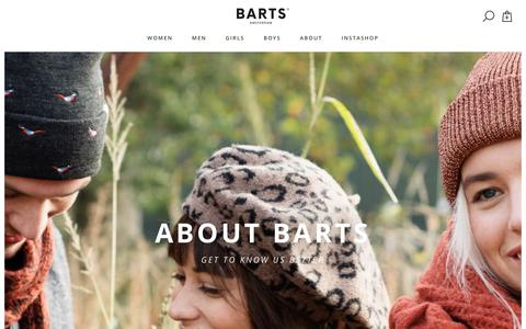 Screenshot of About Page barts.eu - About | Barts - captured Nov. 13, 2018
