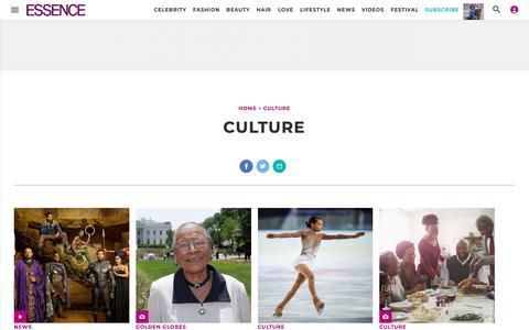 Culture | Essence.com