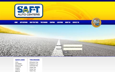 Screenshot of Login Page saftauto.com - User Log In - captured Oct. 3, 2014