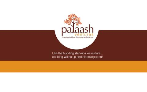Screenshot of Press Page palaashventures.com - Palaash - captured July 15, 2018
