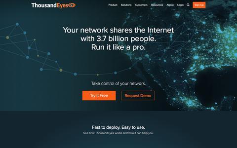 Network Intelligence Software | ThousandEyes