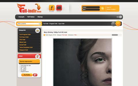 Screenshot of Home Page full-indir.com - Full İndir - Program İndir - Oyun İndir - captured Oct. 23, 2018