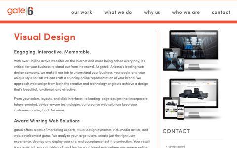 Arizona Creative Web Design Services | Gate6