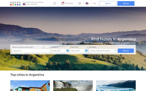 Argentina Hotels - Online hotel reservations for Hotels in Argentina